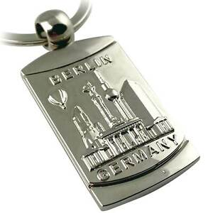 Schlüsselanhänger Berlin Souvenirs, Geschenk - aus Metall Bronze