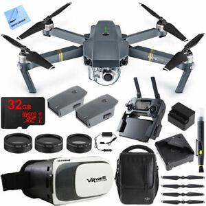Virtual Reality Experience Bu+ DJI Mavic Pro Quadcopter Drone w/ Camera & Wi-Fi