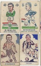 SHEFF UTD A FORBES Sports FaVourites No.145 RARE BLACK Back Trade Card 1953