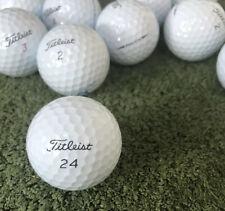 24 Titleist Pro V1X Golf Balls 2 Dozen Near Mint 5A/4A Grade FREE SHIPPING