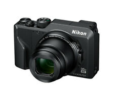 NIKON Coolpix A1000 schwarz Kompaktkamera (16 MP, 35-Zoom, 4K-Film, SnapBridge)