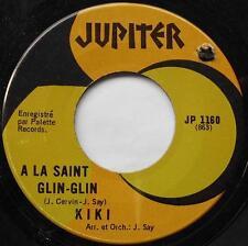 *KIKI A la saint glin-glin / Jo, le cowboy CANADA 1968 FRENCH MEGA RARE 45