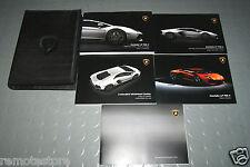 2013 Lamborghini Aventador LP700-4 Owners Manual Handbook - USA & Canada - SET
