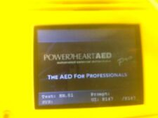 Powerheart AED G3 Pro w/two batteries PROFESSIONAL MODEL 9300p-501    $2550