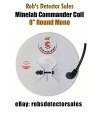 "Minelab Commander Search Coil - 8"" Round Mono for Minelab Metal Detectors"