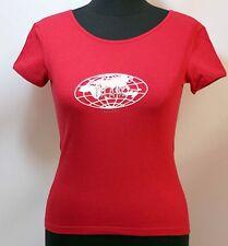 Prima Classe maglia rossa t shirt manica corta Alviero Martini S