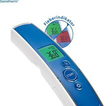 Contactless clinical infrared/laser digital thermometer - made in Germany