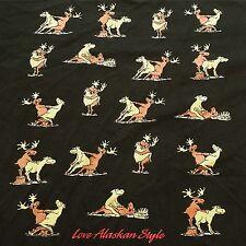 90s VTG NAUGHTY Animals SEX Positions Moose ALASKA Tourist XXL Funny T Shirt USA