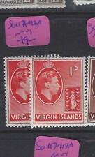 VIRGIN ISLANDS   (PP3112B) KGVI   1 D SG 111-A   MOG