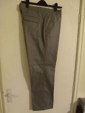 "TED BAKER Pashion Men's Light Grey Pin Check Formal Trousers W36"" L31"" Cttn/Blen"