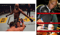 """ANDERSON SILVA signed Autographed """"UFC"""" 8X10 PHOTO - PROOF - GOAT The Spider COA"""
