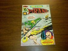 THRILL-O-RAMA #3 Harvey Comics 1966 PIRANA