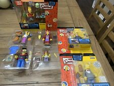 The Simpsons WOS Playmates Series 12 Set Compete With Playset