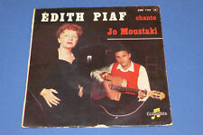 "45 TOURS EDITH PIAF ""PIAF CHANTE JO MOUSTAKI"" 3 T. COLUMBIA ESRF 1197 / BON ÉTAT"