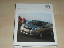 57651) Toyota Yaris Pressemappe 2006