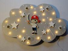 """Kinderzimmer Deckenleuchte Lampe """"Peter Pirat"""" handgefertigt und individuell"""