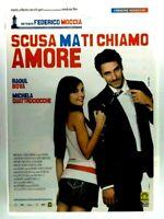 Scusa ma ti chiamo amore DVD Raoul Bova Michela Quattrociocche Film Cinema ITA X