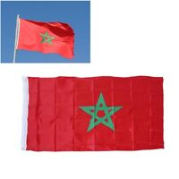 90×150cm Morocco Flag Banner Hanging Moroccan Indoor Outdoor Home Decoration