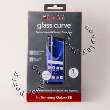 ZAGG Glass Curve Screen Protector for Samsung Galaxy S8 Resistant Tempered Glass