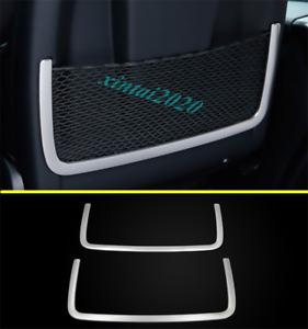 Silver Inner Rear Seat Back Storage Frame Trim For Benz R Class W251 2010-2017