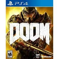 DOOM - PlayStation 4 - 2016 - PS4