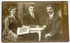 Cabinet Card Family Portrait Switz / St. Gallen C. EBINGER Fashion & Costumes