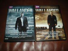LOT 2 COFFRETS DVD INTEGRALE SERIE WALLANDER SAISONS 1 ET 2 - KENNETH BRANAGH