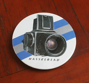 HASSELBLAD BUTTON, DEALER PROMO ITEM