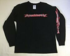 Vintage Adidas Mens Large Black Spellout Long Sleeve Shirt USA Made Skate Surf