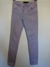 TT20)  STYLISH WOMENS RIVER ISLAND SKINNY  JEANS SIZE 8 INSIDE LEG 28