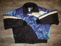 Vintage Polaris Snowmobile Sled Insulated Racing Men's Jacket Coat Size 2XLarge