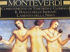 CD Monteverdi : Il ballo delle... / Lamento / Combatimento... Ensemble Concerto