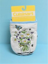 Cuisinart Spring Summer Set of 2 Kitchen Oven Mini Mitts Silicone Grip