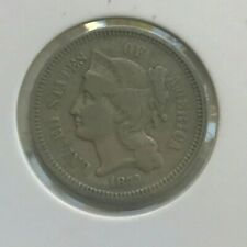 1873 Nickel 3 Cent Piece