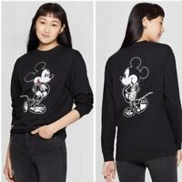Adult Mickey Mouse Skeleton Halloween T Shirt Glow In The Dark SIZE S