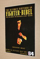 Nintendo 64 Ultimate Fighter Bibel Liste der Moves Fighters Destiny Dark Rift
