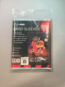 500 ULTRA PRO SOFT TRADING CARD PENNY SLEEVES BASEBALL MAGIC POKEMON NFL NBA NEW