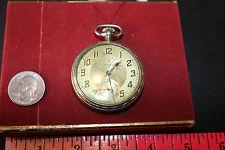 Delmar Tracy W. Co. Vintage Pocket Watch  21-Jewels