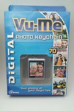 Vu-Me Digital Photo Key Chain Stores 70 Color Photos -- SELLING AS IS