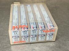 (10) Nachi 3.8mm Metric Jobber Drill, Hsco Powdered Metal, L7572P Sgess