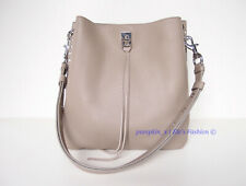 NWT Rebecca Minkoff Darren Leather Hobo Shoulder Bag Sandrift Taupe AUTHENTIC