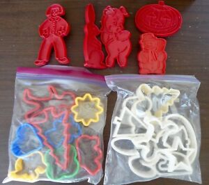 Vintage and Assorted COOKIE CUTTERS - Christmas, Valentines, Easter, Halloween