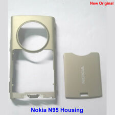 100% Genuine New Original Nokia N95 Middle +Back Cover Fascia Housing -Sand