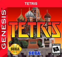 Tetris 16 bit MD Game Card For Sega Mega Drive For Genesis Puyo Next