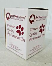 Best Friend Services Ottillie Series Pet Urn - Sizes for Pets up to 170 Pounds