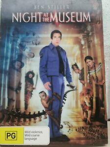 Night At The Museum (DVD, 2007) Holographic Cardboard sleeve BEN STILLER