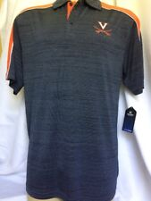 Virginia Cavaliers Polo Golf Shirt Performance NCAA Large Colosseum New