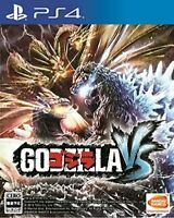 USED PS4 GODZILLA-VS PlayStation 4 JAPAN OFFICIAL IMPORT