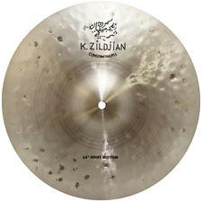 """Zildjian K1072 14"""" K Constantinople Hi Hat Bottom Drumset Bronze Cymbal - Used"""