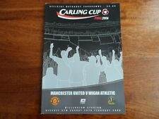 2006 - MANCHESTER UNITED v WIGAN ATHLETIC - LEAGUE CUP FINAL